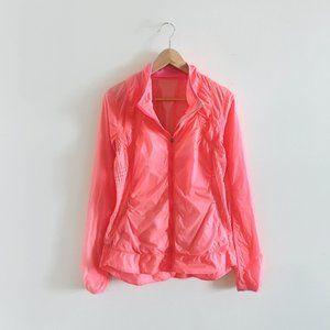 lululemon run wild flash jacket - size 8